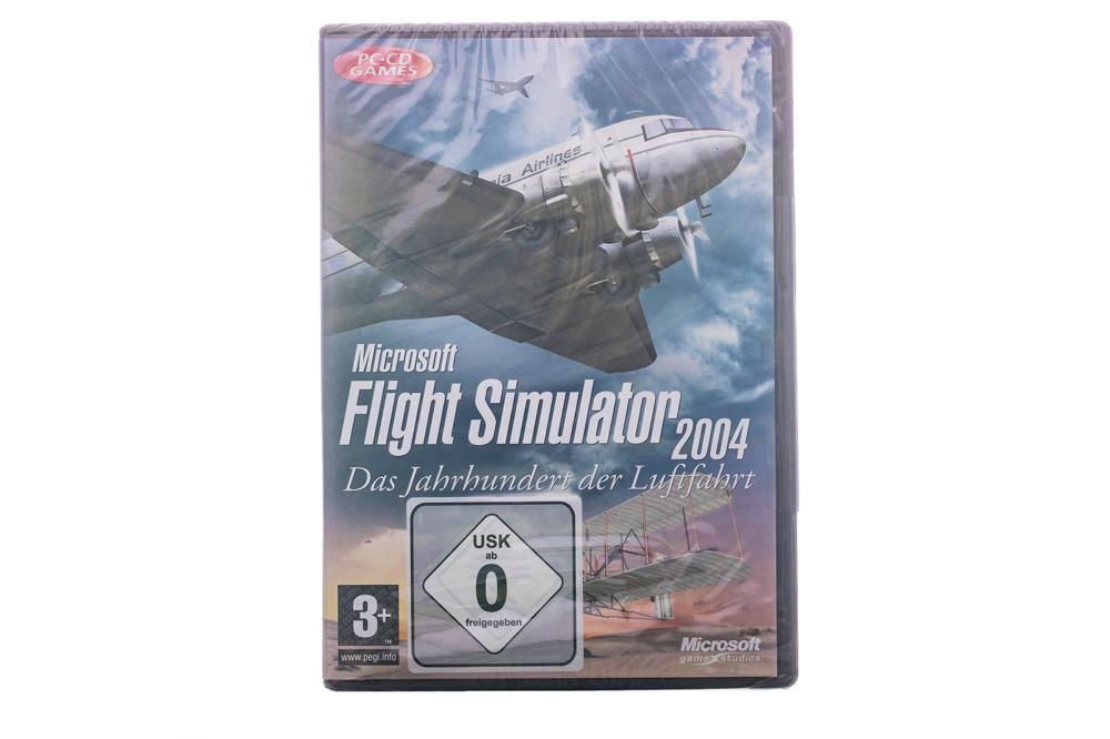 NEW SEALED Microsoft Flight Simulator 2004 (GER) G13-00035